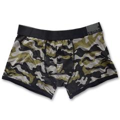 rodeoH Camo Black ButtonFly Boxer
