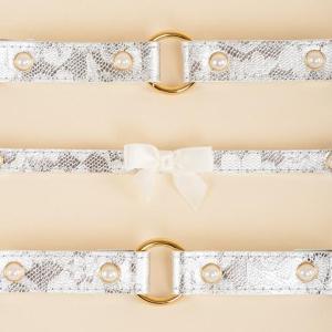 Mint Lace Handcuffs