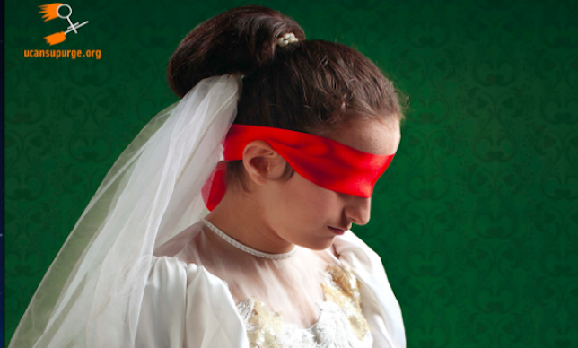 トルコの少女花嫁