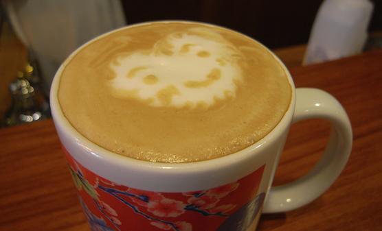 コーヒーを一杯いかが?