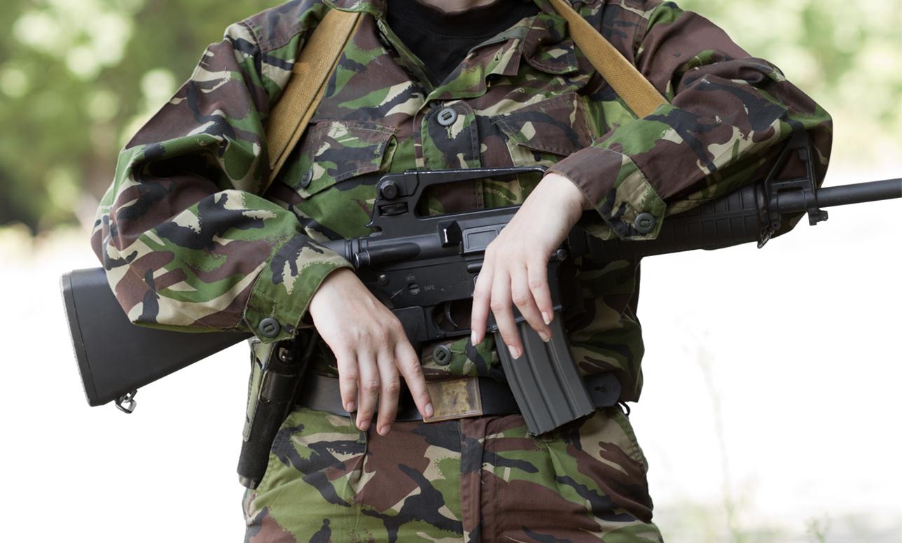女性と軍隊