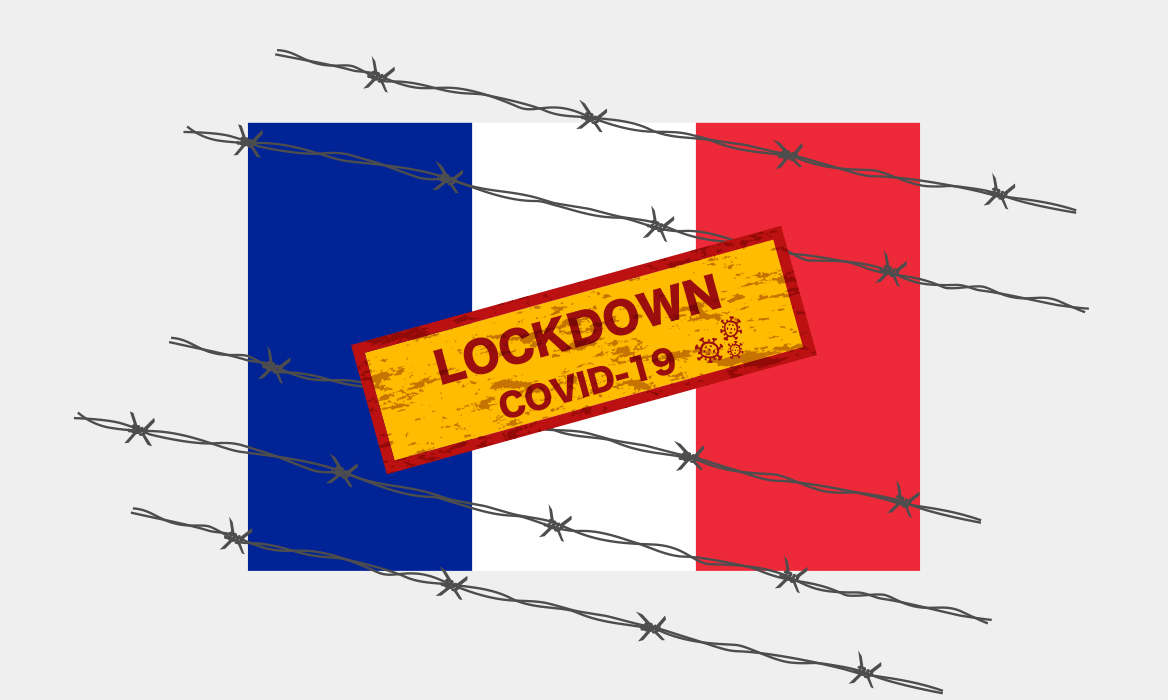 ロックダウンの条件-外出禁止令下のフランス