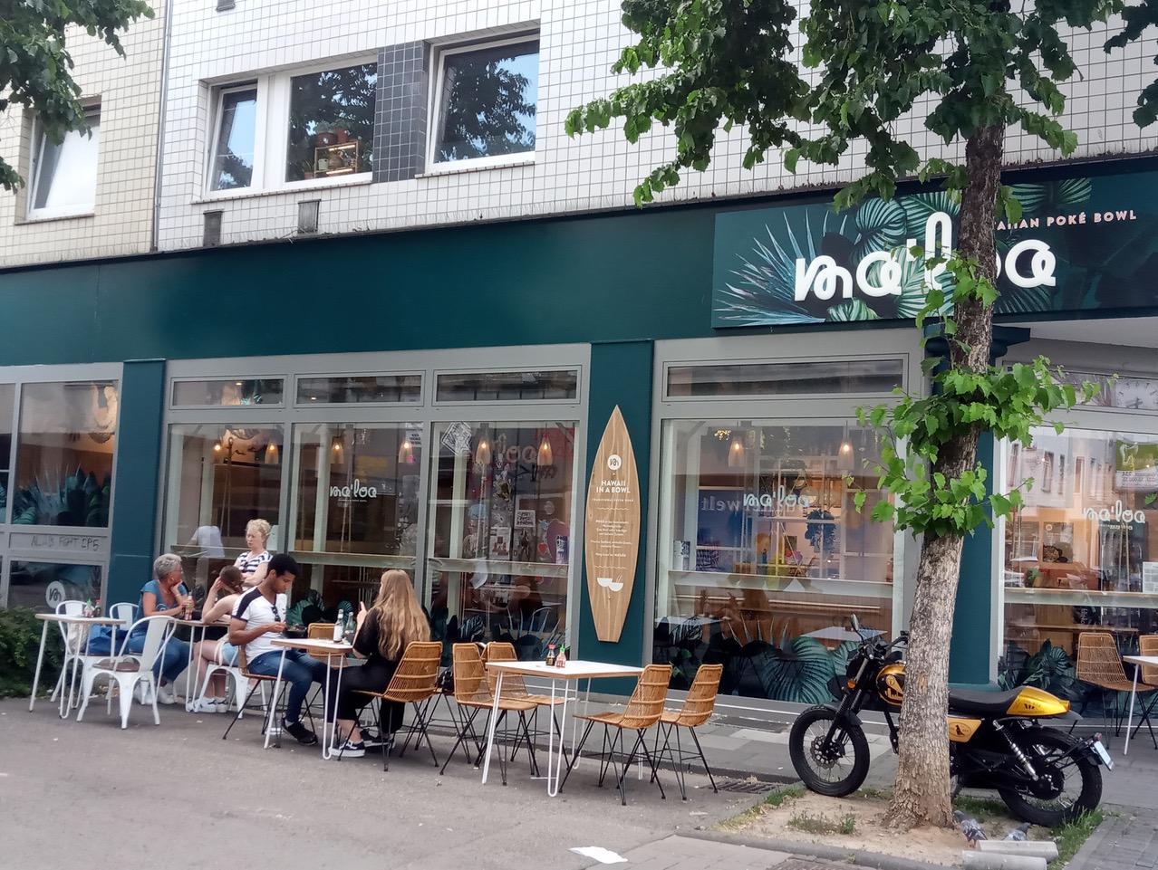 TALK ABOUT THIS WORLD ドイツ編 路面を占拠するテーブルと新しい生活
